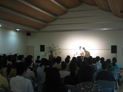 佐川での保育士さん対象のコンサート1